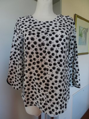 Marc Cain A Line Top white-black polyester