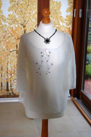 edles, transparentes Tunika-Shirt von Zero
