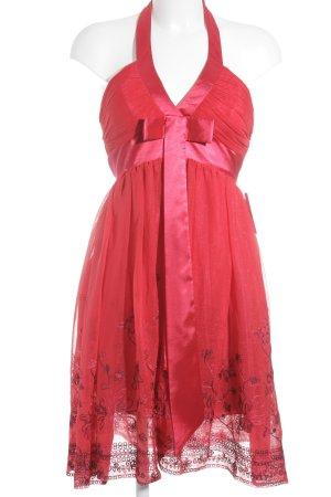 eDressit Evening Dress brick red-blue violet elegant