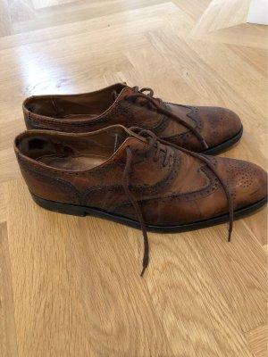 Wingtip Shoes brown