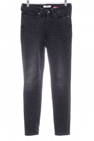 Edwin Slim Jeans schwarz Washed-Optik