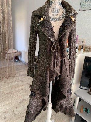Long Jacket dark brown