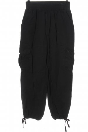 Effeny Cargo Pants black casual look