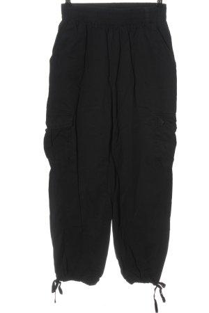 Effeny Pantalon cargo noir style décontracté