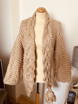 Effeny Coarse Knitted Jacket multicolored