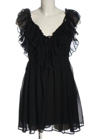 Effeny Minikleid schwarz Elegant