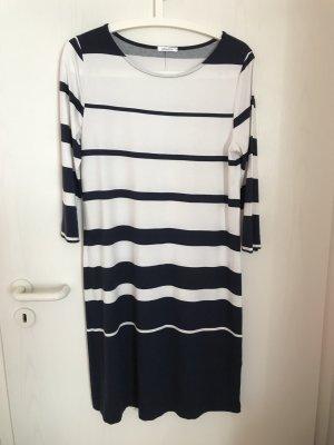efixelle Damen Jersey Kleid Gr. 38 NP. 119 € Farbe: blau-weiß gestreift