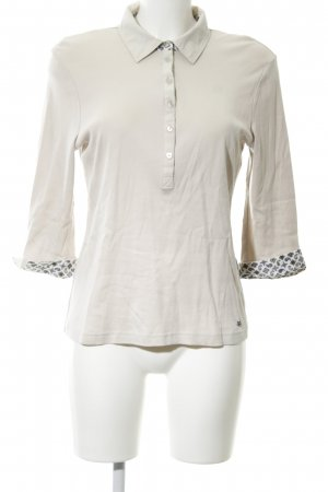 Efixelle Polo-Shirt wollweiß Mustermix Casual-Look