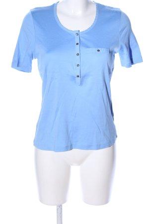 Efixelle Polo-Shirt blau Casual-Look
