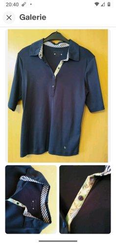 Efixelle Polo Shirt Gr. 38, dunkelblau, reine hochwertige Baumwolle *NEU