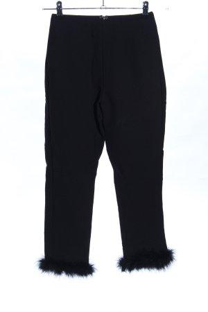 EGGIE Pantalone elasticizzato nero elegante