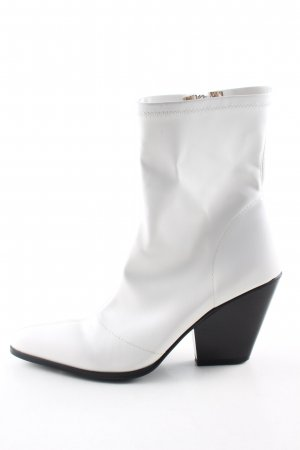 EGO Short Boots white casual look