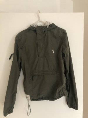 Windjack groen-grijs-khaki