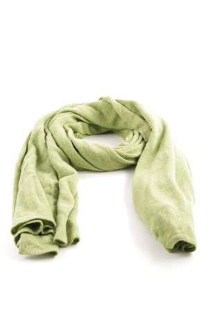 Egon Cashmere Scarf green casual look