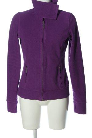eight 2 nine Fleece Jackets lilac casual look