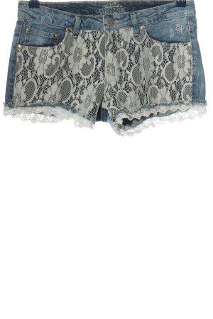 eight 2 nine Denim Shorts blue-white casual look