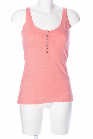 Eight2Nine Basic Top pink meliert Casual-Look