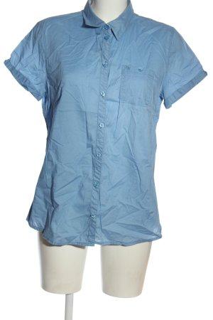 Eight2Nine Camisa de manga corta azul estilo «business»