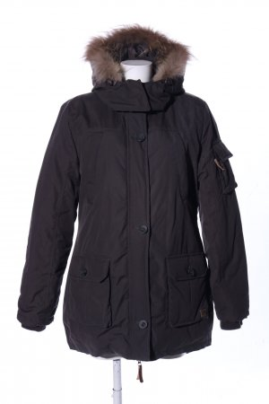 Eight2Nine Parka schwarz Casual-Look