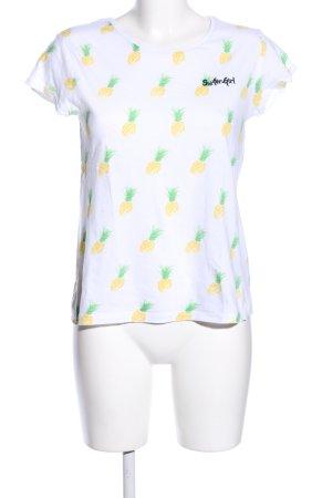 Eight2Nine Print-Shirt Motivdruck Casual-Look