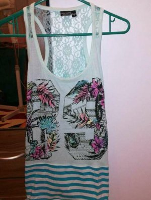 eight 2 nine Backless Top turquoise