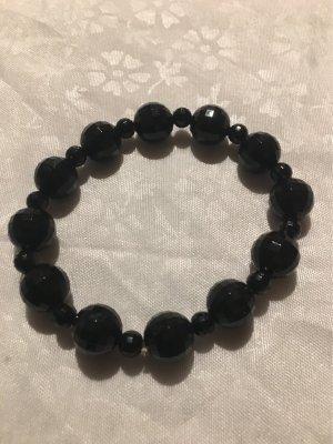 Zara Pearl Bracelet black