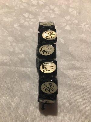 no name Armband zwart