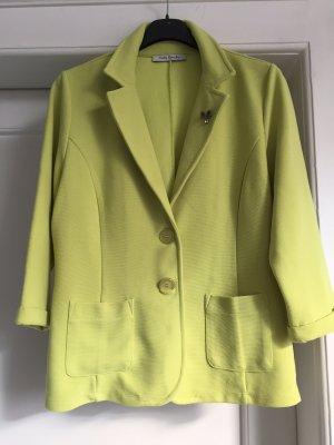 Betty Barclay Sweat Blazer lime yellow