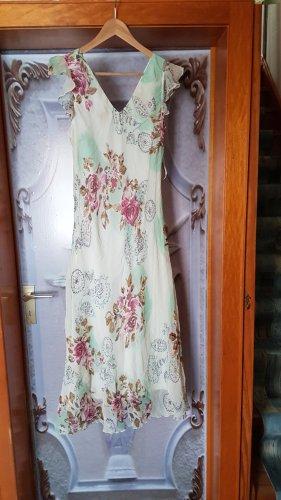 Adagio Robe à manches courtes multicolore