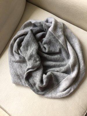 CACHEMIRE LAND Écharpe ronde gris clair-argenté