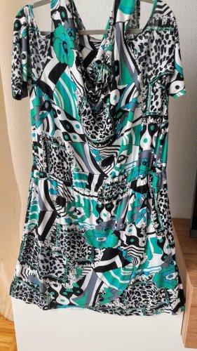 Ein charmantes Blusenkleid Freizeitkleid von QutFit Classic NKD Größe 48 Neu