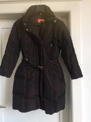 CB4 Manteau en duvet brun noir