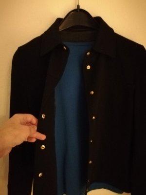 Mark Aurel Blazer in jersey nero