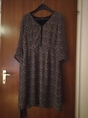1.2.3. UN DEUX TROIS Paris Szyfonowa sukienka szary