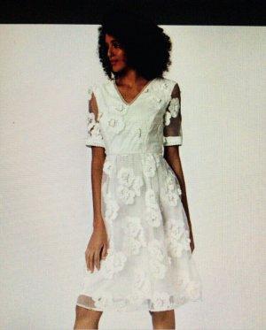 Apart  glamour Wedding Dress white-cream
