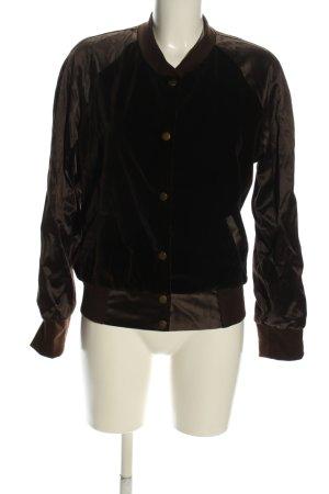 Ein Garten Studios College Jacket black-brown casual look