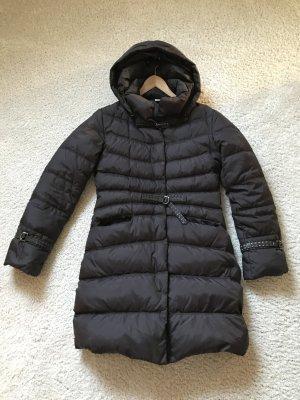 Short Coat dark brown polyamide