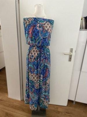 Ein Hingucker Schulterfreies Kleid Gr S aus Viskose NEU