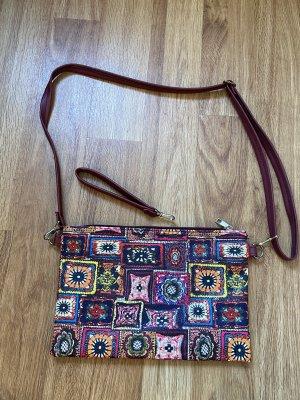 Ein Hingucker wunderschöne Tasche zum umhängen o als Clutch NEU