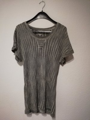 Debby Debo Knitted Jumper silver-colored