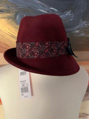 Basler Felt Hat carmine