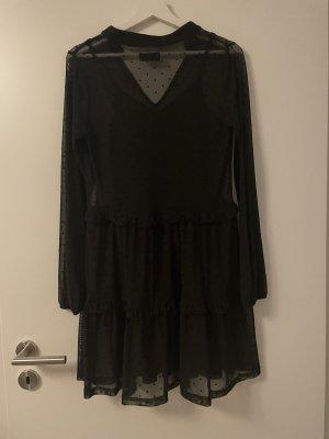 Even & Odd Chiffon Dress black