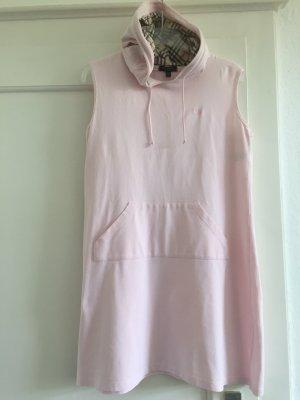 Burberry Hooded Dress light pink cotton