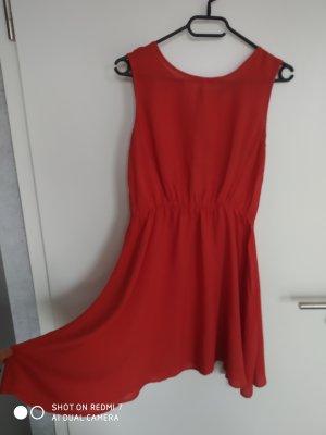 Befree Robe d'été rouge clair-rouge viscose