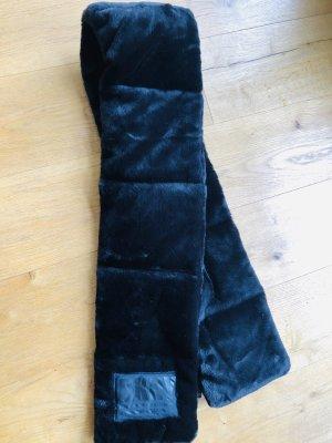 DKNY Bufanda de seda negro