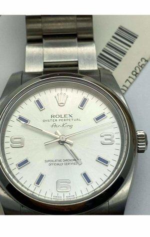 Rolex Horloge met metalen riempje zilver-goud