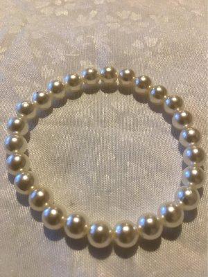 Zara Pearl Bracelet white