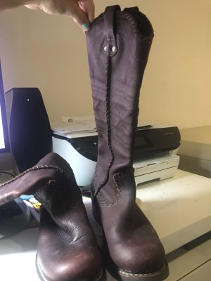 Art Western Boots brown leather