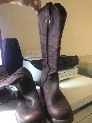 Art Botas estilo vaquero marrón Cuero