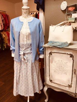 Saint Tropez Plaid Skirt white-baby blue